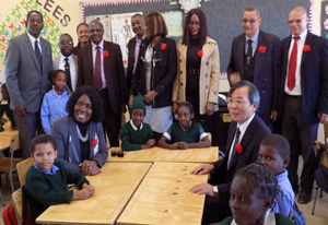 Japan hands over Augeikhas Primary's new N$700,000 school block