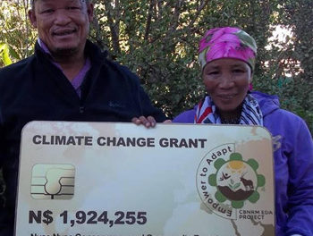 Nyae Nyae Conservancy to benefit from Environmental Fund's N$1.9 million grant