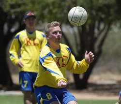 Fistball squad readies to represent continent at World Championship