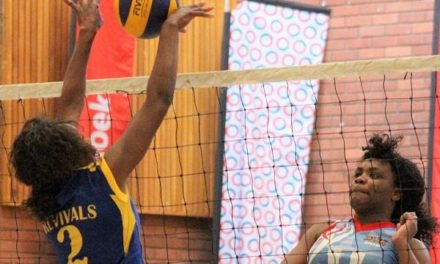 First round of central region volleyball fixtures put police and defence in the lead