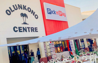 Olunkono's new Pick n Pay to support local entrepreneurs by procuring locally-grown products