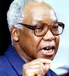 Mwalimu Nyerere honoured at a ceremony in Butiama