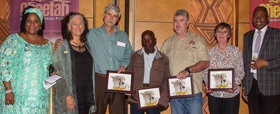 Cheetah awards evening celebrates nearly three decades of dedication to conservation