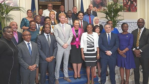 Redhead Royal guides discussion on youth policy in Commonwealth members