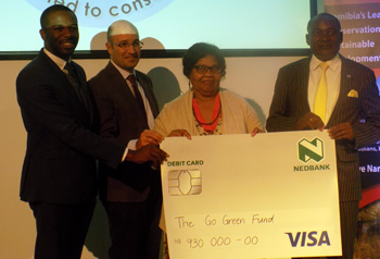 Go Green Fund gets N$930,000 shot in the arm