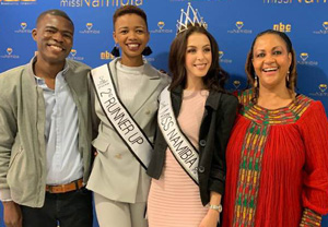 Reinsurance Corporation fulfils pledge – gives N$30,000 to Miss Namibia winners