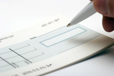 Cheques written off as a payment instrument