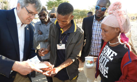 US support to curb drug-resistant tuberculosis in Tsumkwe's San community