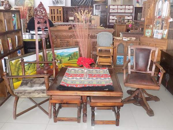 Indifurn's delectable Indian furniture now available at their new premises at Windhoek's Old Power Station