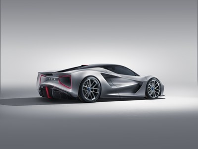 Lotus goes up against BMW by building the world's fastest electric hypercar