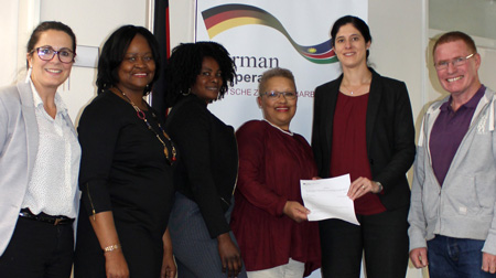 Bright Hill Pre-School receives financial boost from German Embassy