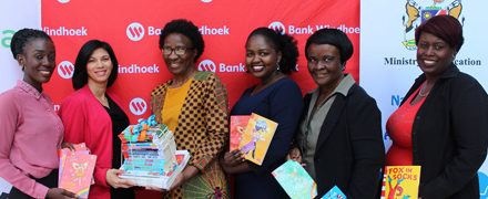 Bank Windhoek supports the promotion and nurturing of a reading culture in young school children