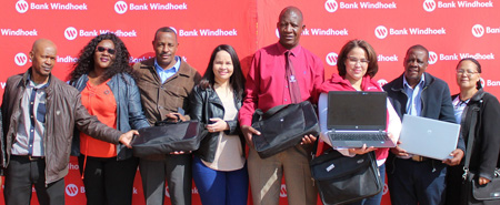 Omaheke Regional Library receives tech equipment from local bank