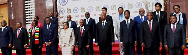 Tanzania's Magufuli takes over from Geingob as SADC chair