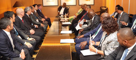 Geingob invites Japan's private sector to invest in Namibia