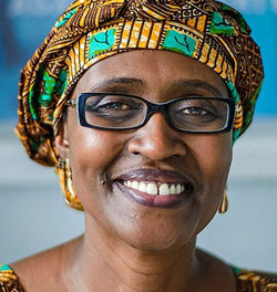 Namibia congratulates 'Winnie' on her appointment as Executive Director of the Joint UN Programme on HIV/AIDS