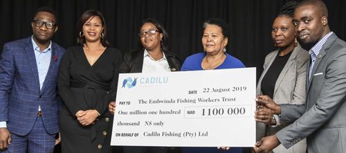Cadilu Fishing gives back to its employees amid tough economic climate