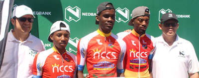 Marckernzy Eiseb crowned king of first ever Oshana Cycle Challenge