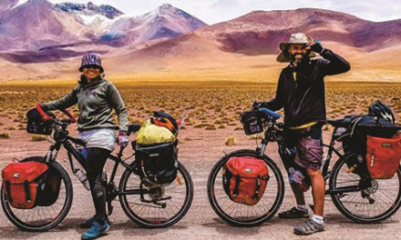 Indonesian couple to begin their bicycle journey through Africa to Europe in Windhoek