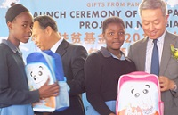 No more need to carry textbooks in plastics bags – Panda Pack Project avails 40,000 back packs