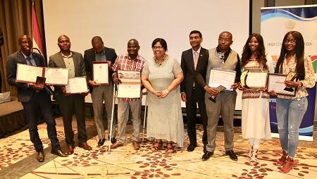 Indian Commission commemorates development and assistance programme in Windhoek