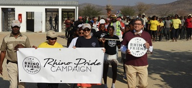Khorixas community celebrate World Rhino Day – US Ambassador reaffirms commitment to save wildlife