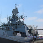 Indian warship makes port call at the Port of Walvis Bay