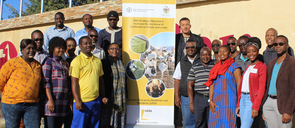 FAO's workshops equip agricultural extension officers with skills needed during emergency situations