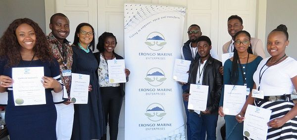 Young leaders groomed in professional leadership development, courtesy of Erongo Marine