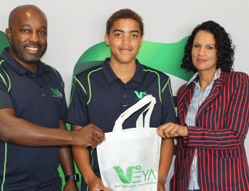 Teen swimmer gets timely boost from IT company