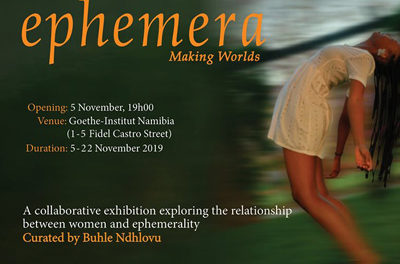 Exhibition and performance which explores the relationship between woman's body and social constructions such as gender to take place at Goethe-Institut.