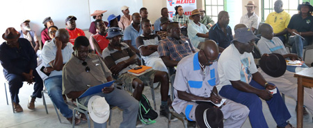 Meatco engages with communal farmers in the Omaheke and Otjozondupa regions