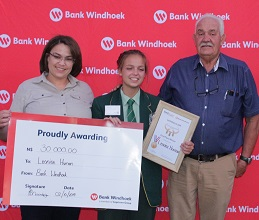 Learners absorb skills, knowledge of feeding and judging stud animals on the farms – 17-year-old clinches first-prize