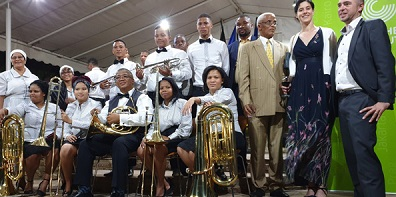 Why not blow your horn a little louder – donated instruments to help Church Brass Band to reachout further