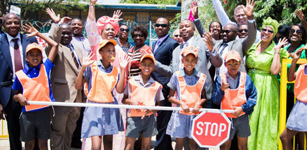 School road safety programme to reduce the rate of road traffic injuries inaugurated