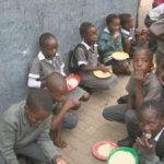 377,000 children benefit from school feeding programme