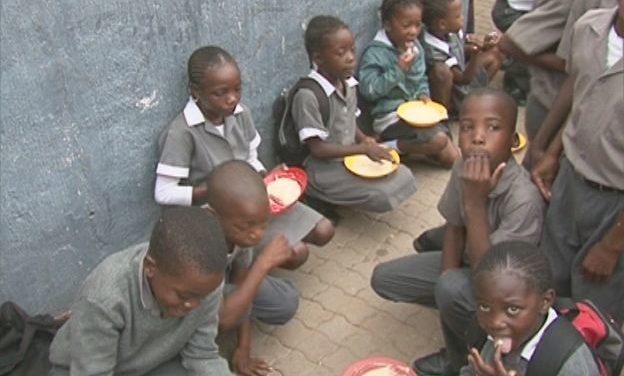 377,000 children benefit from school feeding programme