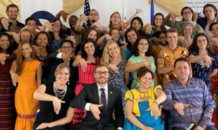 U.S. Peace Corps volunteers commence with two-year journey to strengthen education across the country