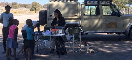 Cheetah Conservation provides mobile clinics during World Rabies Day celebrations