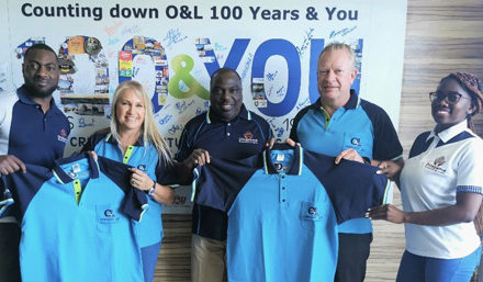 Local is lekker – Dinapama manufactures 6000 golf-shirts for O&L Group 100 year legacy
