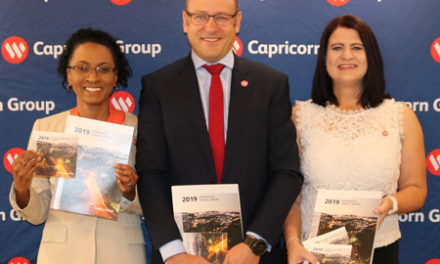 Capricorn launches 2019 consolidated annual report