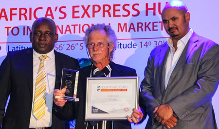 Namport recognises their long serving employees