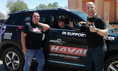 Cancer Association gets support from Pupkewitz Haval during Heartbeat of Hope tour