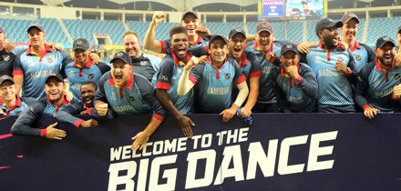 Namibia to play in their maiden T20 Cricket World Cup slated for Australia next year