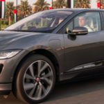 Self-driving prototype Jaguar I-PACE hits the road for the first time in Dubai