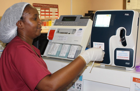 Windhoek Central Hospital's Cardiac Unit gets state of the art blood gas analyser