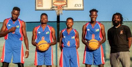 Men's 3 on 3 basketball team to participate in World Beach games in Qatar