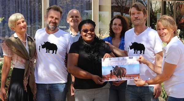Baxu's adventures bring in sponsor money for rhino guardians