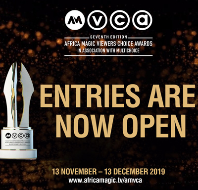 Entries for the African Magic Viewer's Choice Awards now open