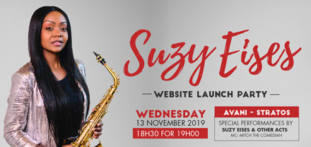 Suzy Eises to launch personal website